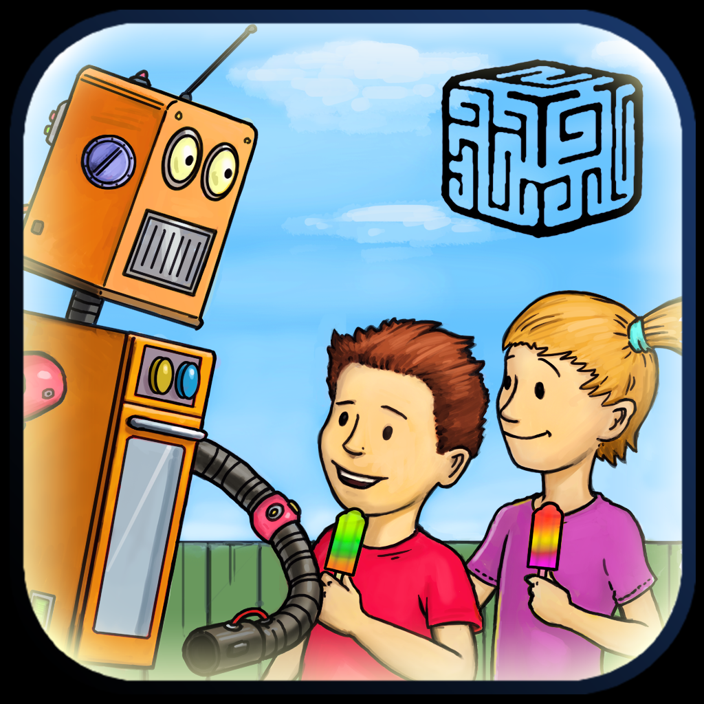 iPhone, iPad: »Hanna & Henri - The Robot«
